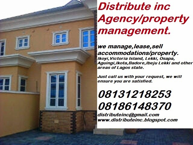 Distribute Inc Agency and property management