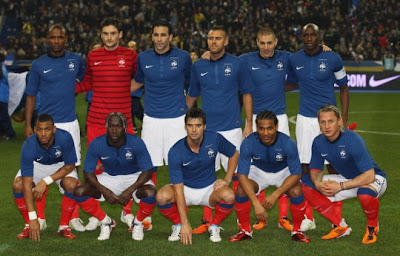 France Official Team Euro 2012
