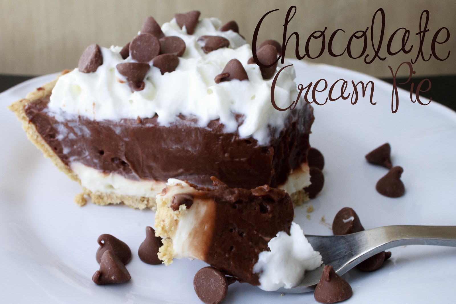 ... Name Is Snickerdoodle: Fabulous Food Friday #140 {Chocolate Cream Pie