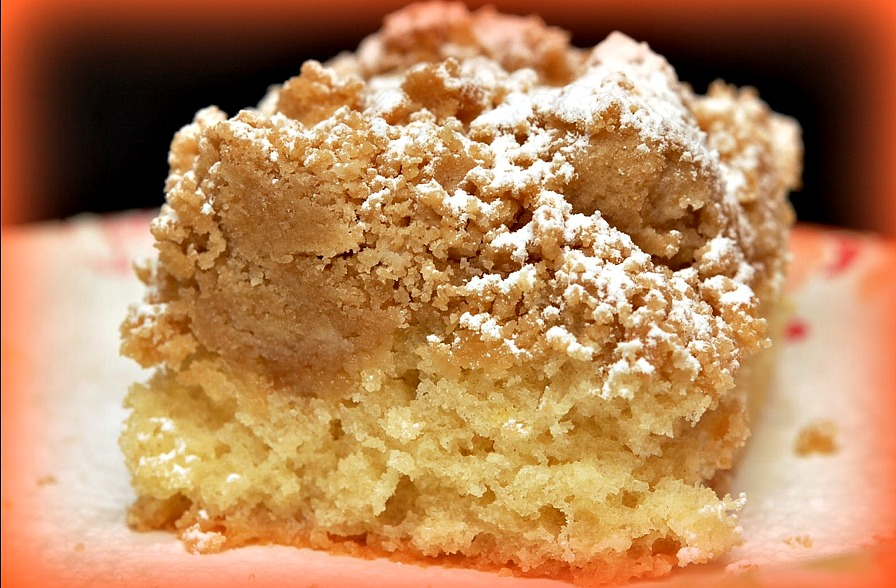 NEW YORK STYLE CRUMB CAKE - Hugs and Cookies XOXO