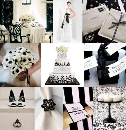 Wedding Themes Wedding Style Black And White Wedding Theme