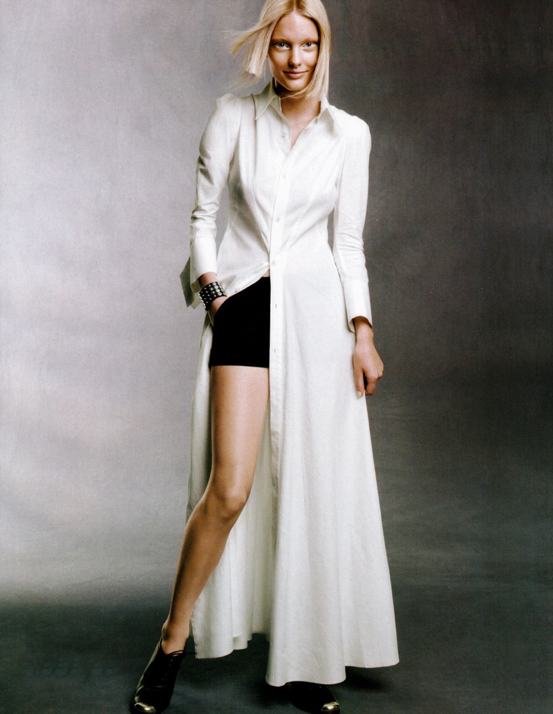 Vogue China February 2010 / wardrobe essentials / history of shirtdress / shirtwaist dress story / via fashioned by love british fashion blog