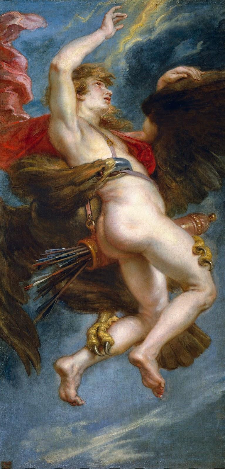 Peter Paul Rubens, El rapto de Ganimedes (1936), Museo del Prado, Madrid