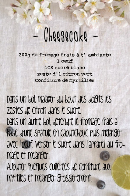 recette cheesecake facile