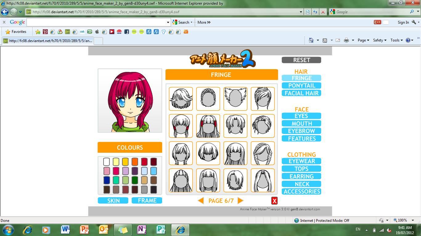 2 Anime Character Creator : Anime kingdom face maker