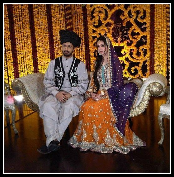 Atif Aslam & Sara Bharwana Wedding Pictures[part 1]
