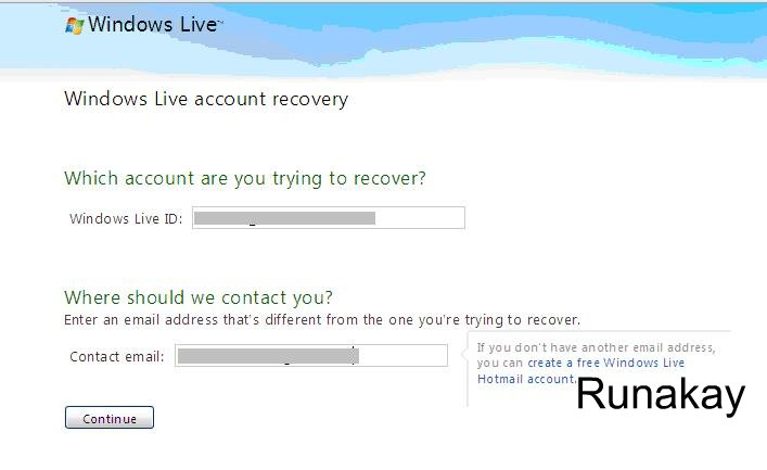 how to delete my windows live account