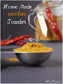 HOME MADE SAMBAR POWDER