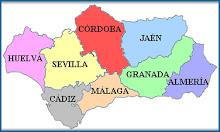 Provincias Andalucía