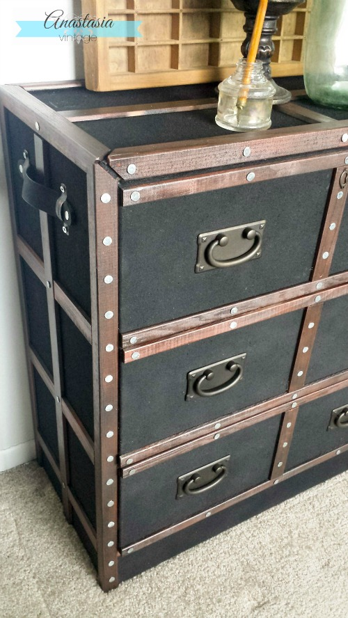 Pottery barn inspired dresser ikea rast hack anastasia vintage - Modern furniture knock offs ...