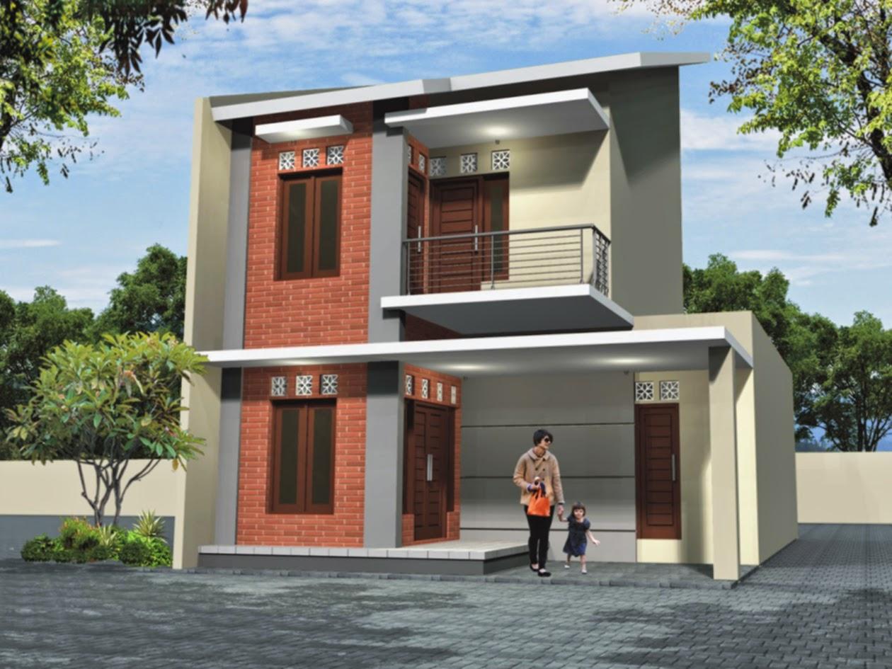 contoh desain rumah minimalis type 36 2 lantai desain rumah
