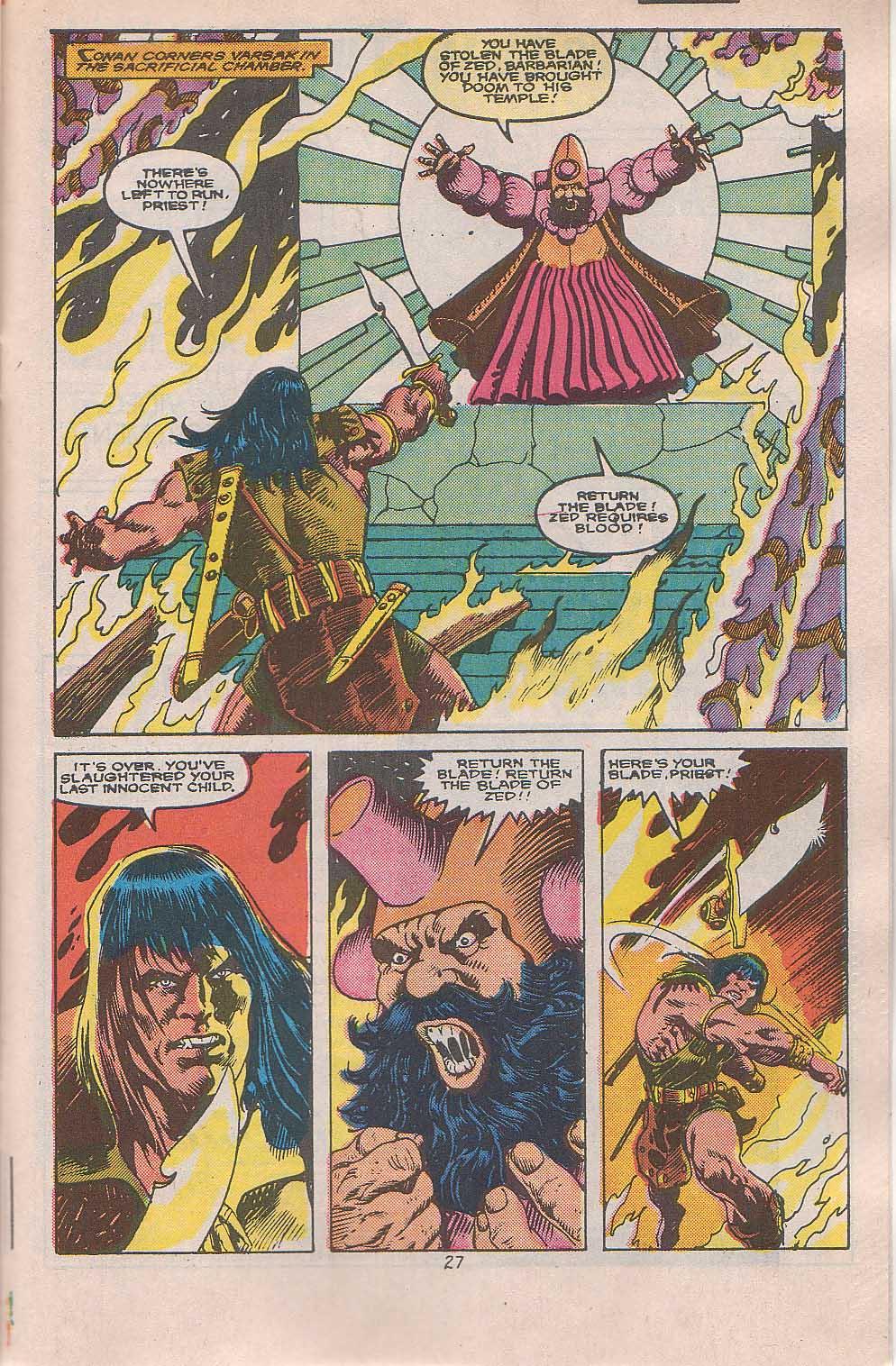 Conan the Barbarian (1970) Issue #216 #228 - English 21