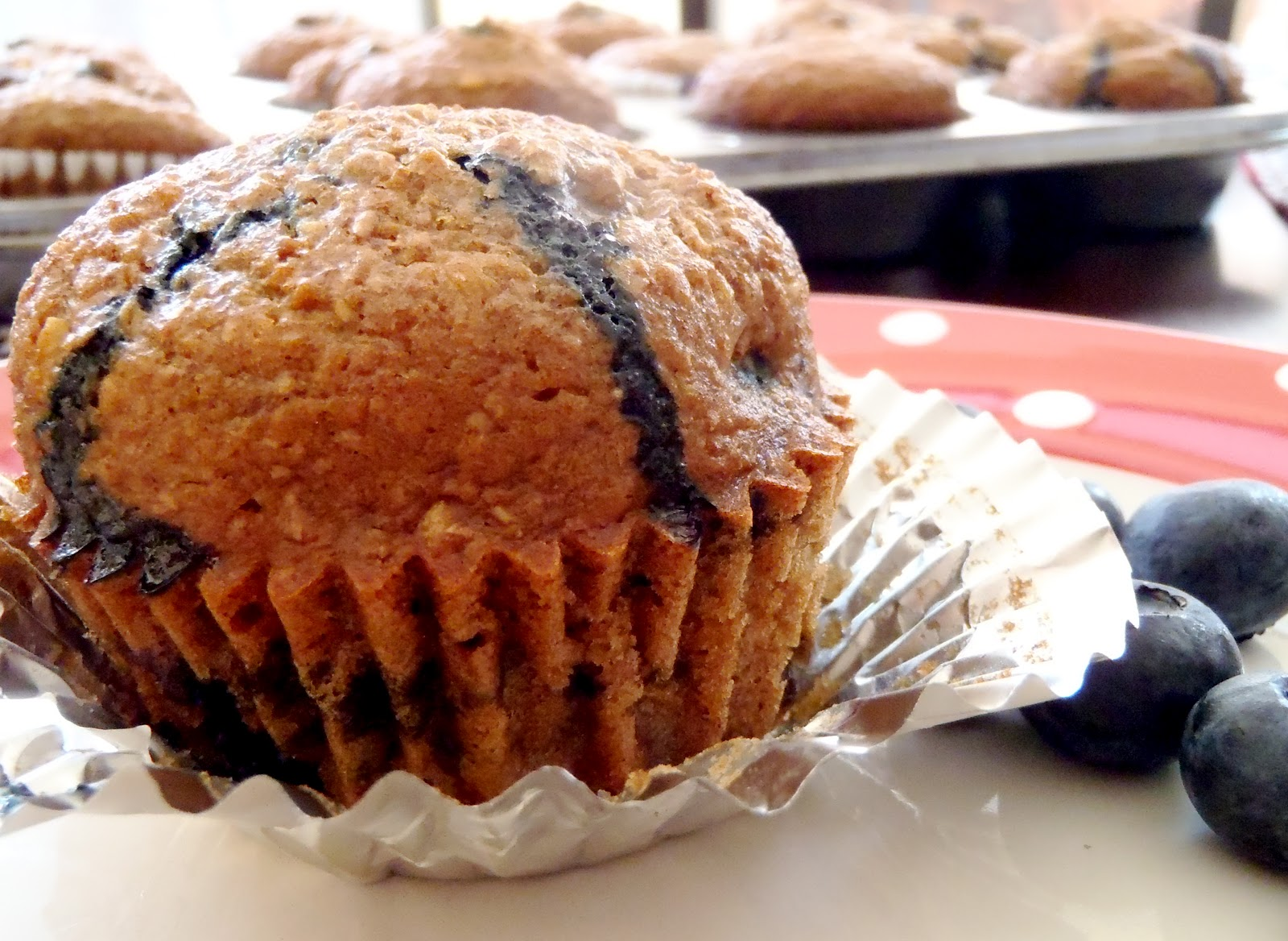 Macke Monologues: Honey Coconut Blueberry Bran Muffins