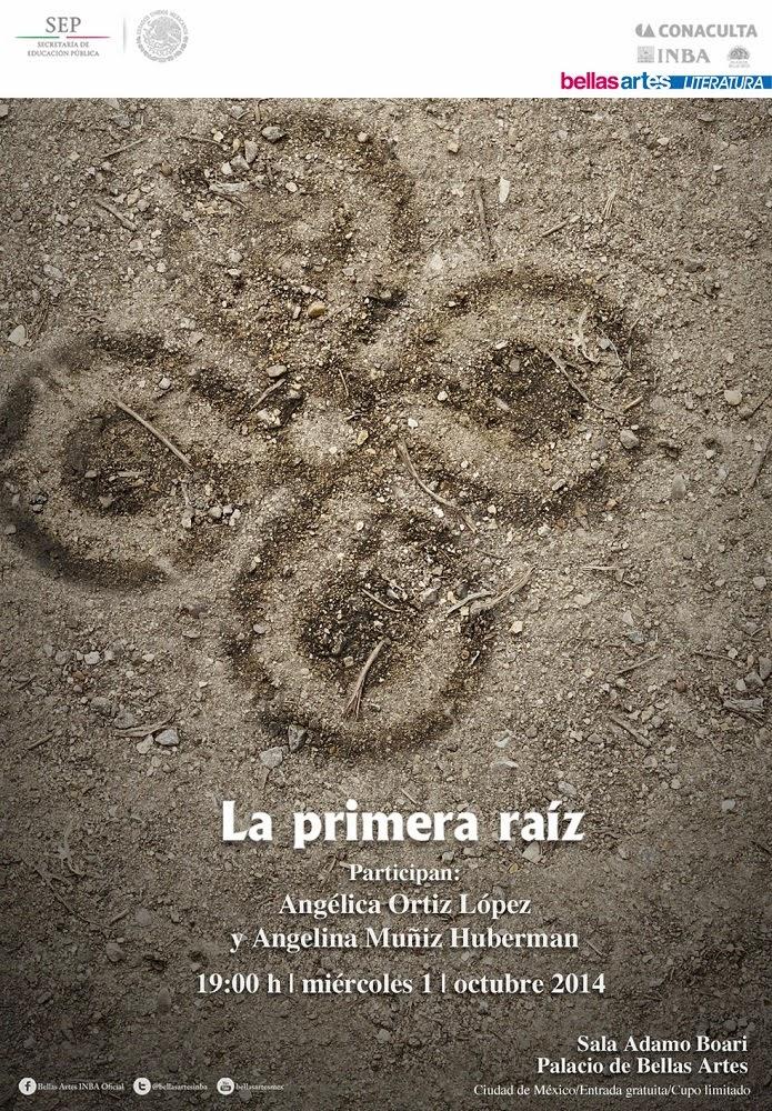 """El ciclo """"La primera raíz"""" presenta a la poeta huichol Angélica Ortiz en Bellas Artes"""