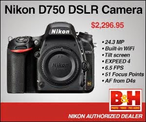 Nikon D750 available