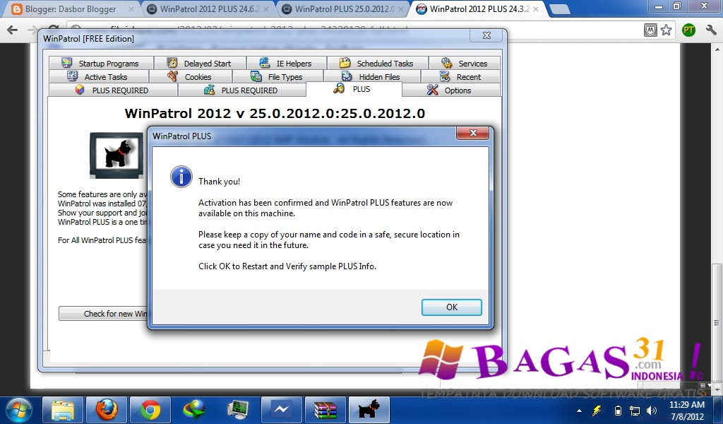 WinPatrol Plus 25.0.2012.0 Final Full Serial - BAGAS31.com