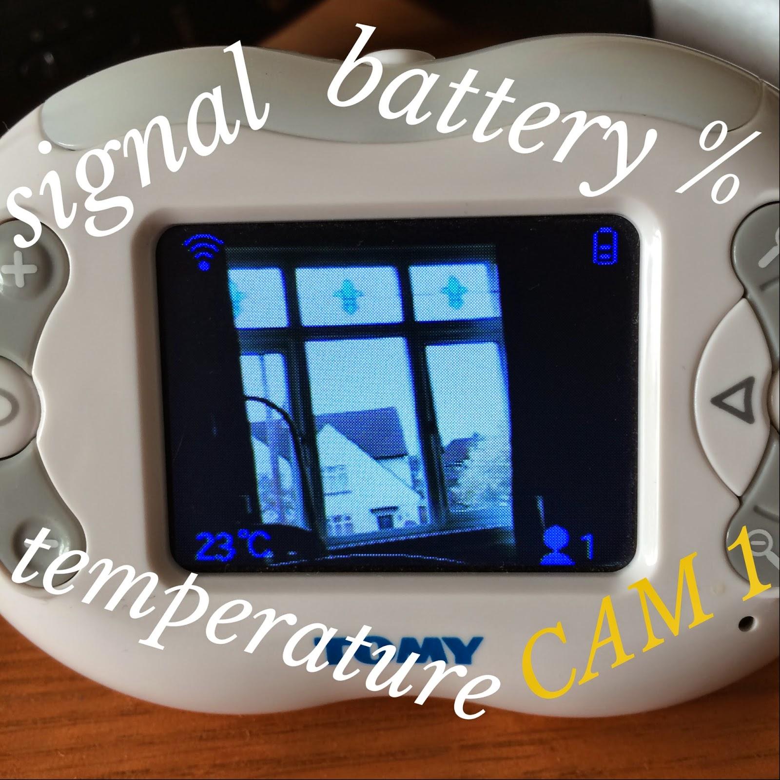 mrs bishop 39 s bakes and banter tomy tfv600 digital video baby monitor review. Black Bedroom Furniture Sets. Home Design Ideas