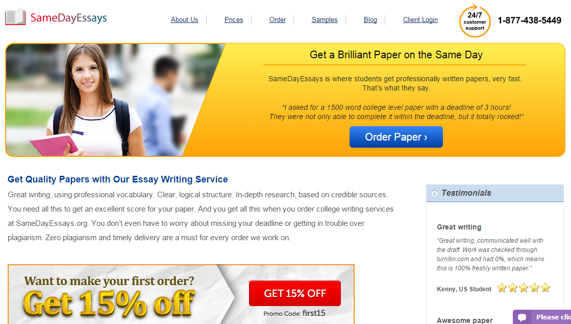 Review of essay writing service nyc