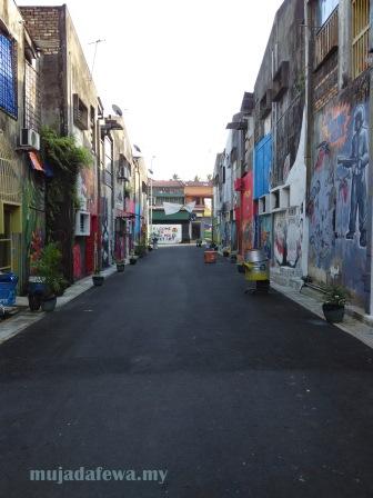cek mek molek street art, kelantan street art, machang street art, cara pergi ke cek mek molek street art machang