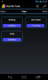 cityville timer app