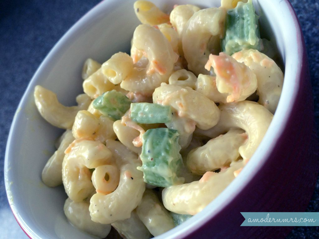 Macaroni Salad Recipe — A Modern Mrs.