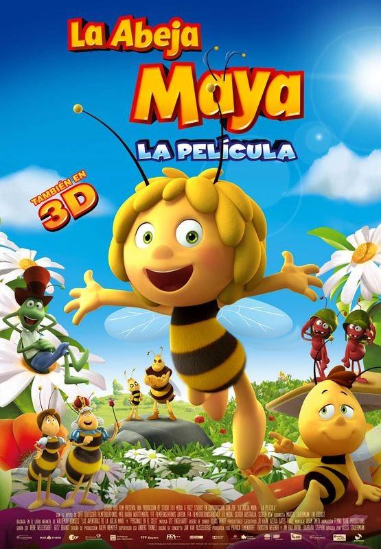 La abeja Maya  Animación  Castellano  DvdRip XviD  2014  La película