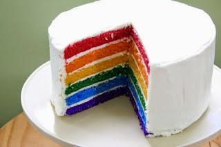 Resep Rainbow Cake Nikmat Dan Lezat