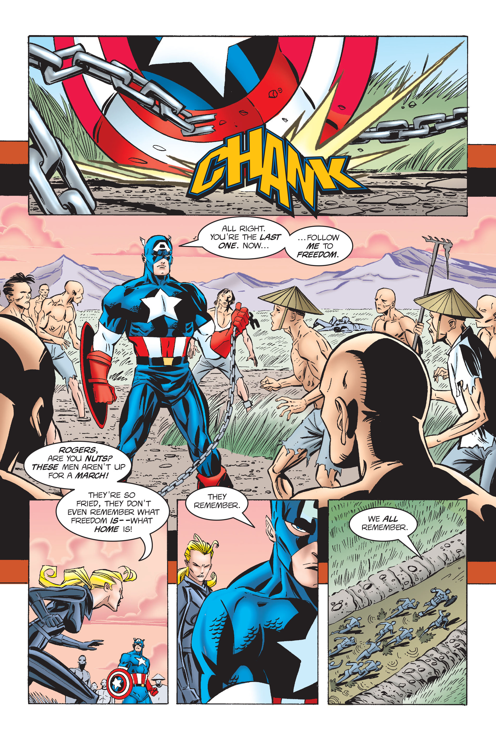 Captain America (1968) Issue #454 #411 - English 15