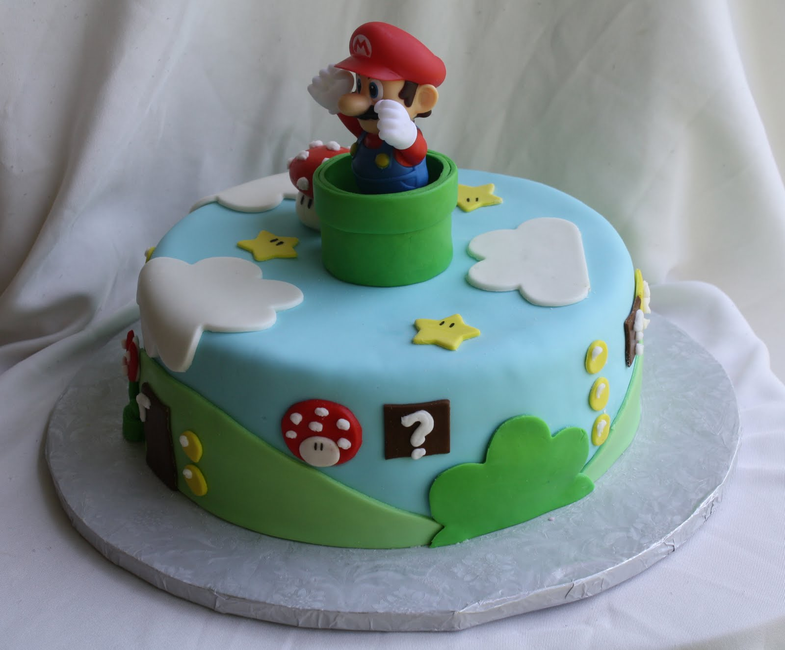 How To Make A D Super Mario Cake