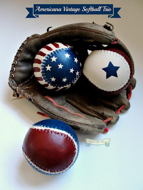 Painted baseballs