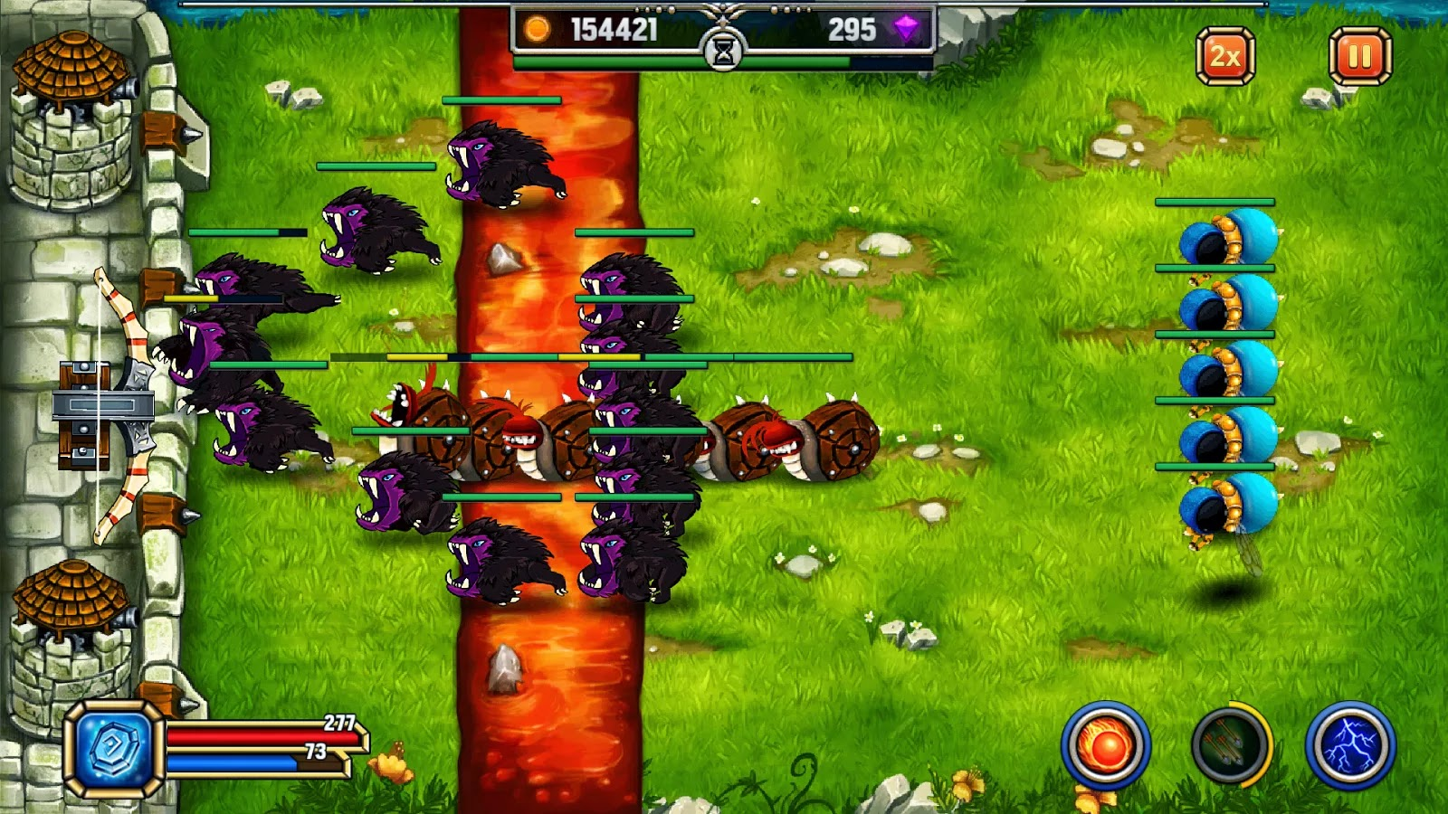 Monster defender mod apk unlimited gold and gems apklover