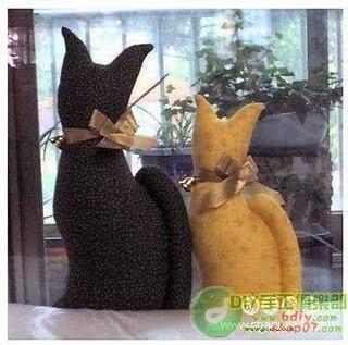 Peso para porta de gatinho com moldes