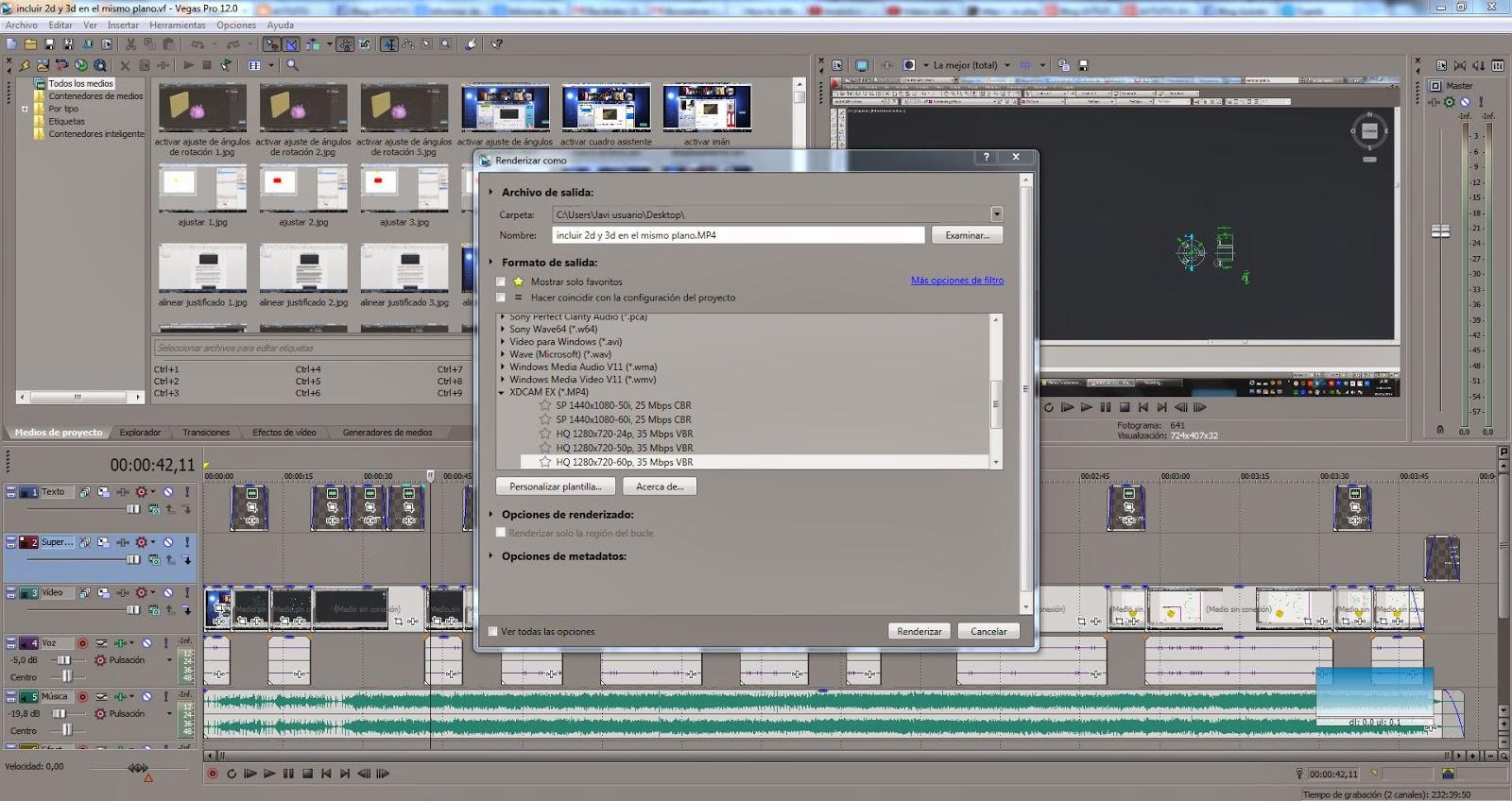 Разбираемся как сохранить готовое видео в Sony Vegas