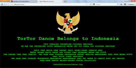 Hacker Indonesia Turut Perjuangkan Nasib Tari Tor-Tor