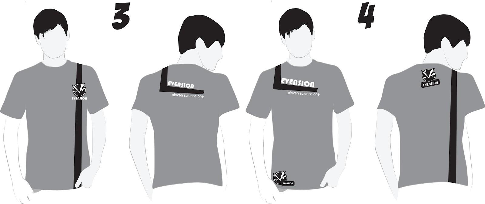 Contoh desain t shirt kelas - Dan Ternyata Desain Yang Terpilih Adalah Yang Ini