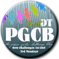 Guest Designer PaperGirl challenges