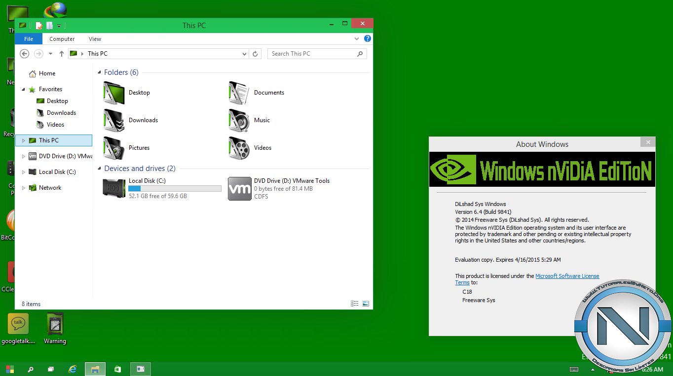 UOC6WBu Windows 10 nVIDIA Edition 2014 [ISO Dvd5] [x32] [MG UL 1F]