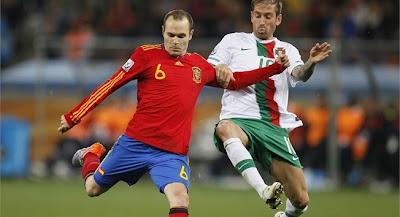 Portugal vs España Euro 2012 Previa