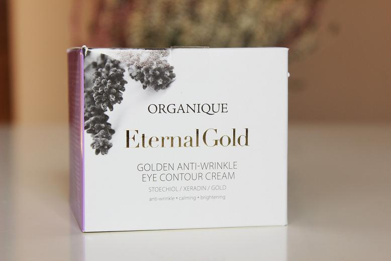 Organique Eternal Gold krem pod oczy