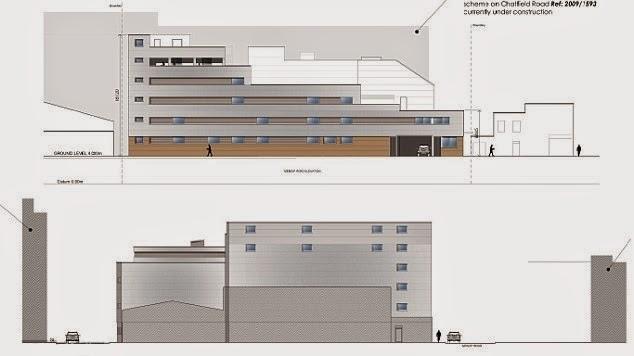Baños Arabes Londres:Su mega estacionamiento tendrá dos pisos subterráneos y seis sobre