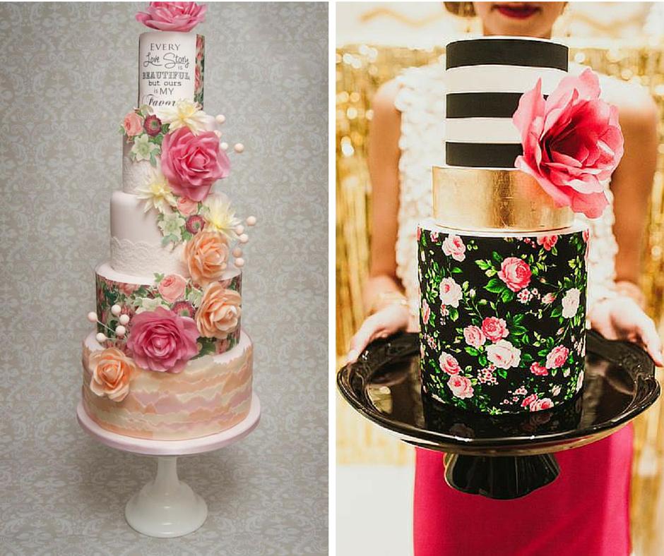 прекрасни идеи за сватбени торти