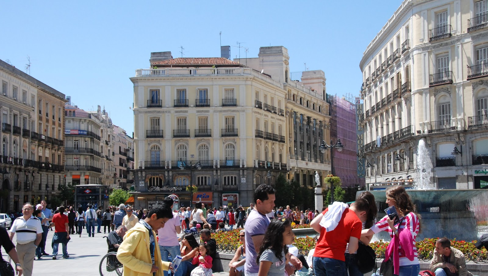 Rambling traveler scenes from madrid spain for Puerta 7 foro sol