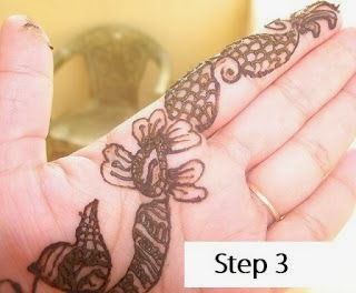 mehndi designs for beginners step by step. Black Bedroom Furniture Sets. Home Design Ideas