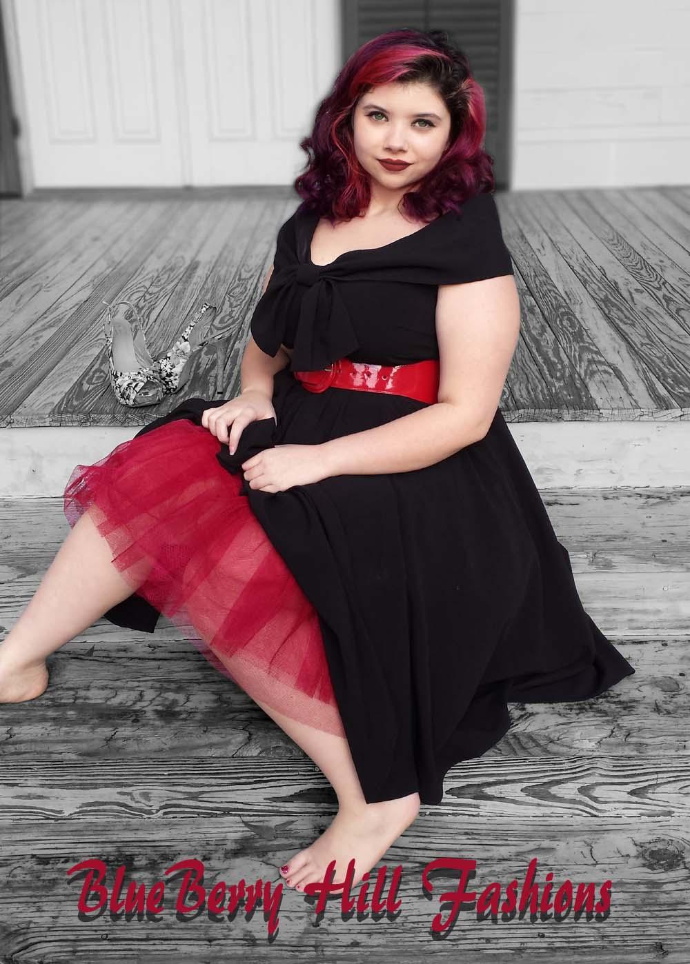 Blueberry hill fashions plus size rockabilly clothing for for Plus size rockabilly wedding dresses