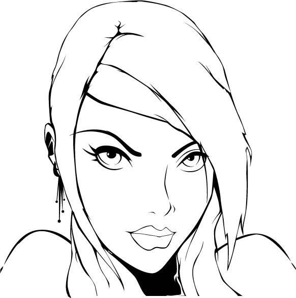 Graphic Line Design Art : Graphic design line art