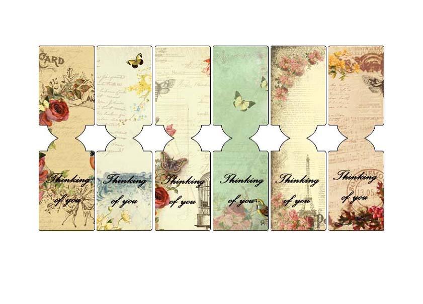 Shoregirl's Creations: Tea Bag Cookies & Tags