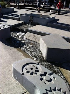 Darling Quarter - Water Sluices