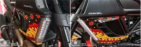 gambar motor ducati batik