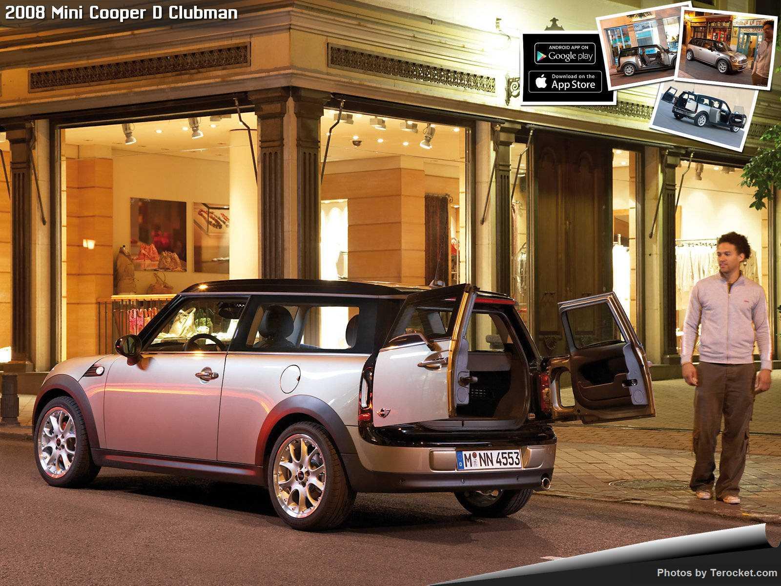 Hình ảnh xe ô tô Mini Cooper D Clubman 2008 & nội ngoại thất