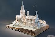 La artista inglesa Su Blackwell, recrea pasajes de libros clásicos . su blackwell